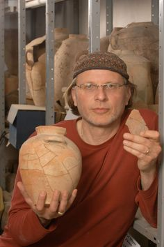 """Simcha Jacobovici, the """"Naked Archaeologist"""" of History Channel fame. Film director, producer, free-lance journalist, amateur archaeologist and writer.    I don't always agree with the theories he posits - his notions on the timetable of the Book of Exodus practically had me giggling - but his theories are compelling and definitely merit further investigation. His last episode on the divide between the """"Judeo-Christians"""" (essentially ancient Messianic Jews) and the non-Jewish Christians…"""