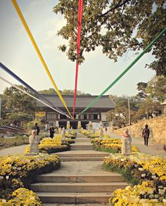 Buddhist temple in Seoul, Korea  https://www.youtube.com/KoreaJunkiesTV