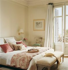 Dormitorio. Me gustan esas lámparas!!!