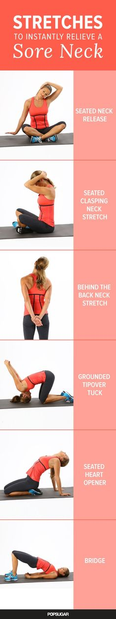 Sore Neck? Here's How to Feel Better Instantly by maryann