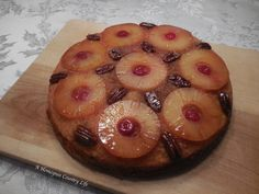 Cast Iron Pineapple Upside Down Cake – A Homespun Country Life Cooked Pineapple, Pineapple Desserts, Pineapple Recipes, Skillet Pineapple Upside Down Cake Recipe, Pineapple Upside Cake, Cast Iron Skillet Cooking, Delicious Desserts, Dessert Recipes, Desert Recipes