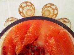 Pomegranate, raspberry & pink grapefruit lemonade by Madame Gâteuax - Λαχταριστή pink lemonade με ρόδι, ροζ γκρέιπφρουτ και σμέουρα - Madame Gâteaux