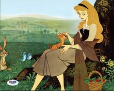 Which animal, with help from two rabbits and a squirrel, pretended to be a prince? Walt Disney, Disney Love, Disney Pixar, Disney Characters, Disney Nerd, Disney Music, Disney Stuff, Sleeping Beauty 1959, Disney Sleeping Beauty