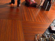 Pavimento in legno di Padouk #quadrolegno #wood #design