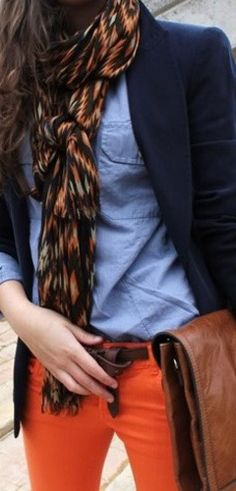 Tommy Hilfiger...love the scarf, the belt, the chinos...the...
