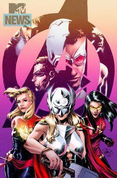 Avengers 42 variant by Elena Casagrande