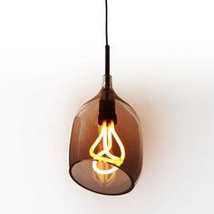 Diagonal bronze Vessel light