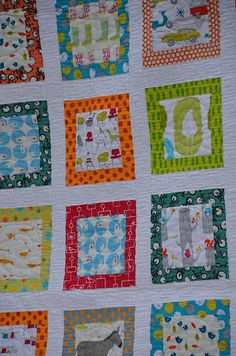 Here's a close-up of the quilting.