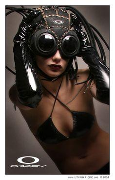 Oakley Medusa Goggles - steampunk - ☮k☮