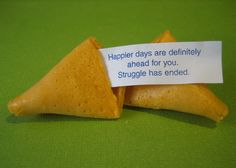 Fortune Cookie Quotes: A letter of great importance may reach you any day now. - Google Search