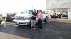 JIMMY's new 2016 Ram 1500! Congratulations and best wishes from Kunes Country Auto Group of Sterling and Scott Bice.