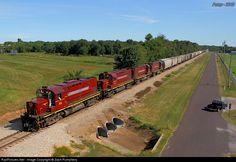 RailPictures.Net Photo: AM 44 Arkansas & Missouri Railroad Alco C420 at Monett, Missouri by Zach Pumphery