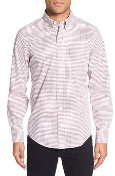 Jack Spade 'Felton' Check Trim Fit Sport Shirt
