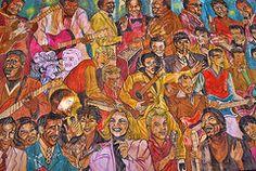 Featured Art - West Third Street Mural by Allen Beatty