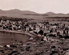 Αφοι Ρωμαιδη.Πειραιάς, κοντινό πλάνο, το Πασαλιμάνι, περίπου στα τέλη του 19ου αιώνα.