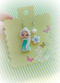 errings princesa dolly por lapetitedeco en Etsy