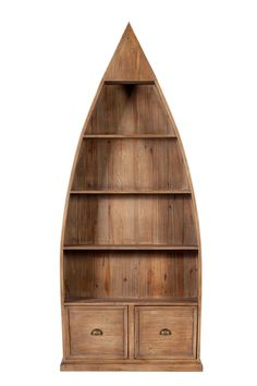 Bermuda Dinghy Bookcase from George Tannahill & Sons