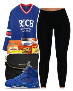 """School starts in 2weeks"" by maiyaxbabyyy ❤ liked on Polyvore featuring Joyrich and MICHAEL Michael Kors"