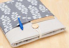 Notizblock-Tasche mit Stiftfach