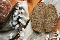 "postup ako pripraviť chlieb s kváskom od Chuť od Naty ""božský"" How To Make Bread, Bread Making, Food And Drink, Cooking, Petra, Baguette, Art, Bakery Business, Baking"