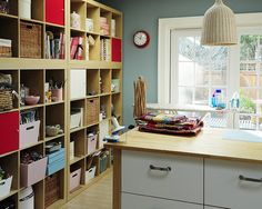 Craft Room Design, Pictures, Remodel, Decor and Ideas - page 4