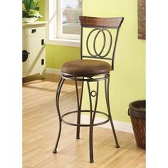 Give your home or office an upgrade with this cool swivel bar chair set. This furniture can elevate the look and feel of any interior space.