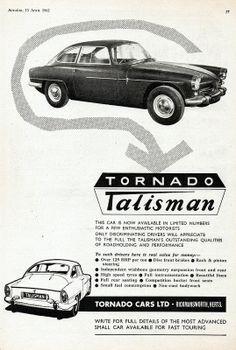 1962 Tornado Talisman
