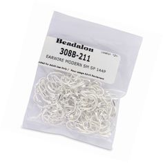 Earring Findings 150051: Beadalon 144-Piece Small Modern Ear Wire, Nickel Free Silver Plate -> BUY IT NOW ONLY: $41.49 on eBay!