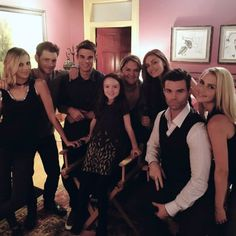 cadlymack: Me & my extremely unattractive family. We're back. TheOriginals at 8pm tonight on The CW.