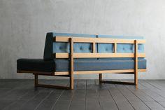 W1940 D1000 H750 SH400 Borge Mogensen / Fredericia / Denmark / 1958 / Oak wood