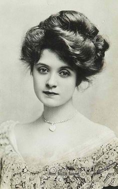 The lovely Billie Burke in the early 1900s