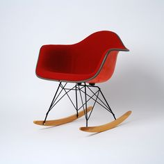 Eames RAR from our shop - red + orange = love.