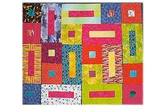 Stitch Bricks and Cobblestones if You'd Love to Create a Unique Quilt