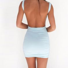 Heartbreaker Backless Dress