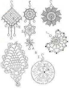 Luty Artes Crochet: Acessórios em Crochê + Gráfico