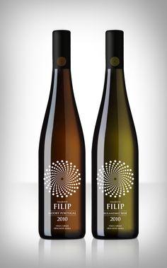 Filip glass bottles www.bullesconcept.com