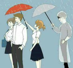 Anime Couples Manga, Cute Anime Couples, Anime Manga, Cute Couple Art, Anime Love Couple, Sad Anime Girl, Anime Art Girl, Cover Wattpad, Deep Art