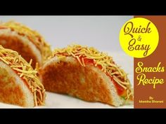 Quick & Easy Snacks Recipe Indian Snacks Recipe In Hindi Party Kid's Tiffin Box Snacks Idea Snack Recipes video recipe – The Most Practical and Easy Recipes Healthy Fruit Snacks, Vegetarian Snacks, Yummy Snacks, Quick Indian Snacks, Easy Snacks For Kids, Bbc Good Food Recipes, Indian Food Recipes, Snack Recipes, Breakfast Recipes