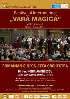 Romanian Sinfonietta Orchestra - 28 Iul 2016 24. August, Orchestra