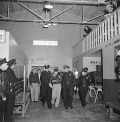 Killer William Cook captured by the police in Mexico, 1951.