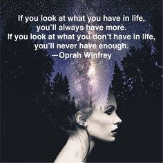 May we see all that we have in life. May we express gratitude to those people, experiences and things. #consciousness #gratitude #oprah #oprahwinfrey #cosmos #thankful #blessings #love #positivity #inspiringquotes #motivate #consciousness #lightworker #instagood #healing #positivemindset #mindfulness #hsp #wisdom #wisequotes