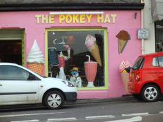 An ice cream shop with a great name in Oban