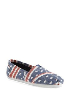 TOMS 'Classic - American' Slip-On (Women) available at #Nordstrom
