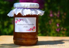 Yorkshire Rhubarb and Vanilla Jam