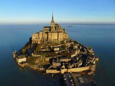 Mont Saint, Michel, France