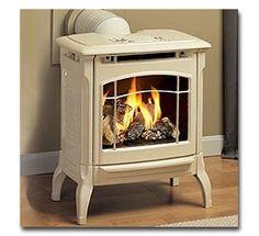 HearthStone Stowe Freestanding Gas Fireplace