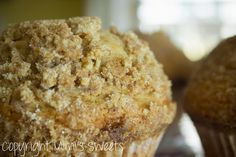 The best muffins ever!! Jumbo Cinnamon Streusel Muffins