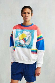 adidas Sailing Graphic Crew Neck Sweatshirt