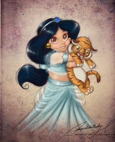 princess jasmine BABY | Immagini principesse Disney baby