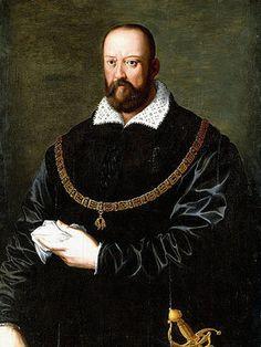 Alessandro (Bronzino) Allori: Cosimo de Medici I mit der Ordenskette des Goldenen Vlies.